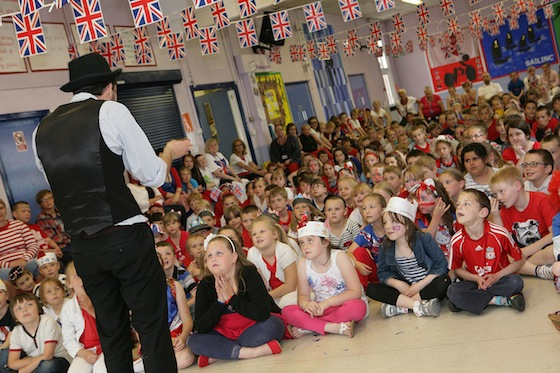 magic shows and workshops for schools