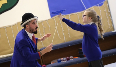 childrens circus workshops